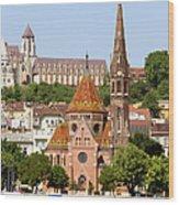Buda Reformed Church In Budapest Wood Print