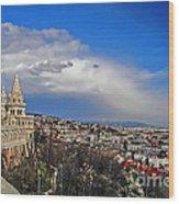 Budapest And Fisherman's Bastion Wood Print