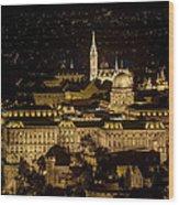 Budapest Castle Wood Print