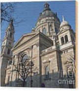 Budapest Opera House Wood Print