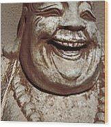 Buddha 15 Wood Print