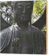 Buddha Detail Wood Print