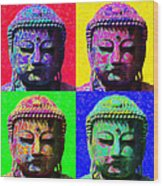 Buddha Four 20130130 Wood Print