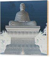 Buddha In Enlightenment II Wood Print