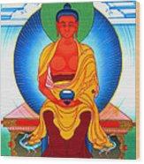 Buddha Of Infinite Light 39 Wood Print