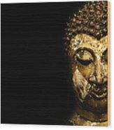 Buddha Portrait  Wood Print