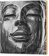 Buddha Smile Wood Print