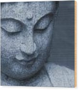 Buddha Statue Wood Print by Dan Sproul