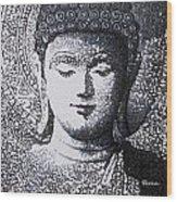 Buddha V Wood Print