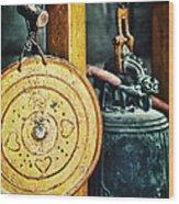 Buddhist Gong Wood Print