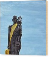 Buddhist Statue Wood Print