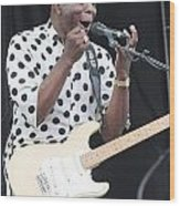 Buddy Guy Wood Print