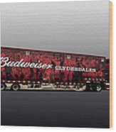 Budweiser Wood Print