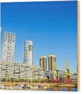Buenos Aires Waterfront Wood Print