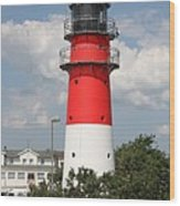 Buesum Lighthouse - North Sea - Germany Wood Print