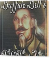 Buffalo Bill Wood Print