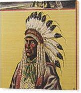 Buffalo Bills Wild West Wood Print