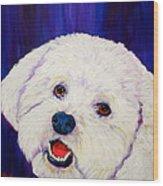 Buffy Wood Print by Debi Starr