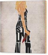 Buffy The Vampire Slayer Wood Print