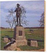 Buford At Gettysburg Wood Print