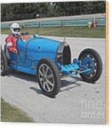 Bugatti Type 35 Racer Wood Print