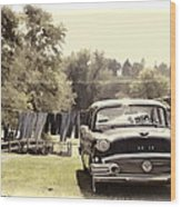 Buick For Sale Two Wood Print