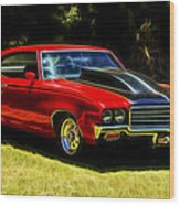 Buick Gsx Wood Print by motography aka Phil Clark