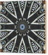 Buick Kaleidoscope Wood Print