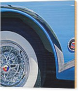 Buick Skylard Wheel Emblem Wood Print