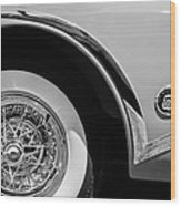 Buick Skylark Wheel Emblem Wood Print