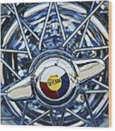 Buick Skylark Wheel Wood Print