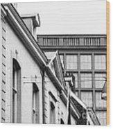 Buildings In Maastricht Wood Print