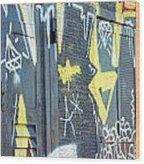 Bulgarian Graffiti Wood Print