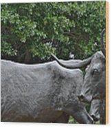Bull Market Quadriptych 2 Of 4 Wood Print