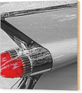 Bullet Tail Lights Wood Print