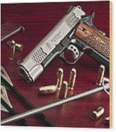Bullets And Broadheads Wood Print