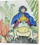 Bullfrog Steed Wood Print