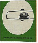 Bullitt Poster Wood Print