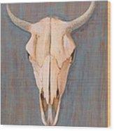 Bullskull No.3 Wood Print