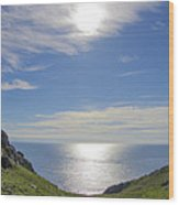 Bunglass Donegal Ireland - Seascape Wood Print