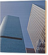 Bunker Hill Financial District California Plaza Wood Print