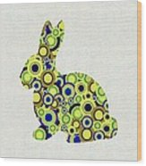 Bunny - Animal Art Wood Print by Anastasiya Malakhova