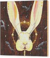 Bunny Yolo Wood Print