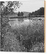 Burford Lake Wood Print