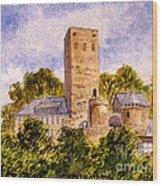 Burg Blankenstein Hattingen Germany Wood Print