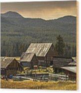 Burgdorf Hot Springs In Idaho Wood Print