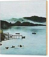 Burin Harbour Wood Print