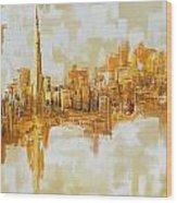 Burj Khalifa Skyline Wood Print