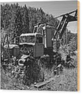 Burke Idaho Logging Truck 2 Wood Print