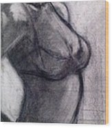 Burlesque 002 Wood Print